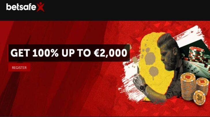Betsafe Poker new player bonus