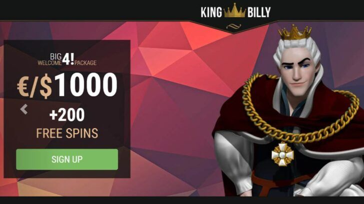 King Billy Casino Welcome Offers