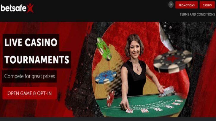 Betsafe live casino promotions online