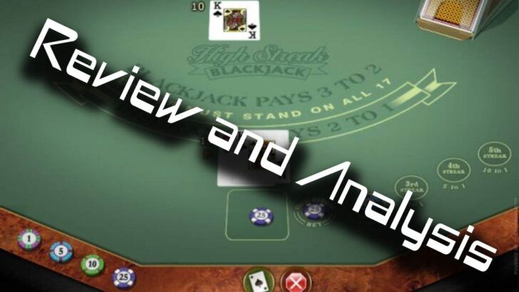 High streak european blackjack review