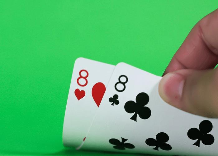 blackjack pair double 8, how to play blackjack online