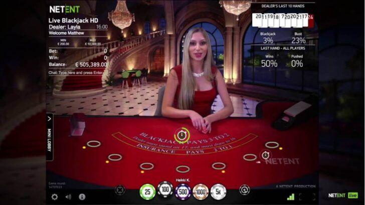 NetEnt live VIP Blackjack review
